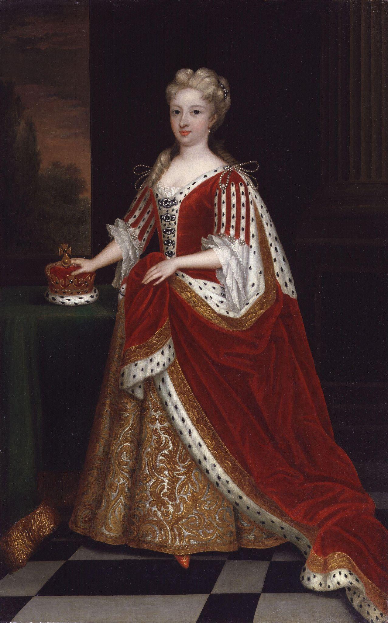 Kneller, Sir Godfrey - Caroline Wilhelmina of Brandenburg