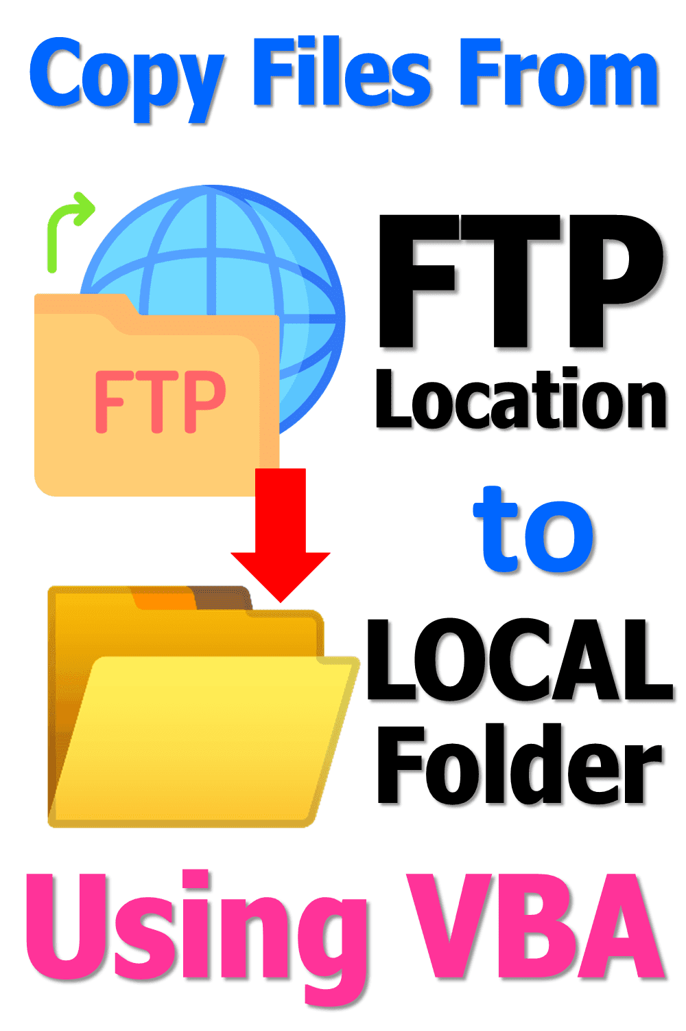How To Copy Files From Ftp Location Using Vba Batch File Data Science Computer Science