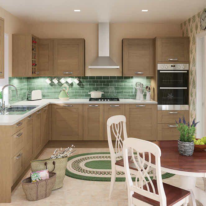 Eton Oak Fitted Kitchen By Magnet Oakkitchen Simply Magnet