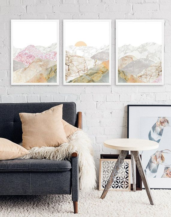 10 Save Mountain 3 Piece Wall Art Large Framed Wall Art Set Of 3
