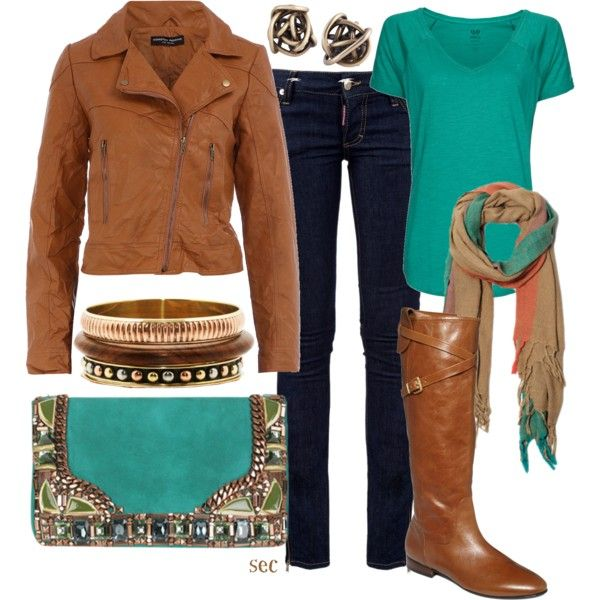 """Fall brown"" by coombsie24 on Polyvore"