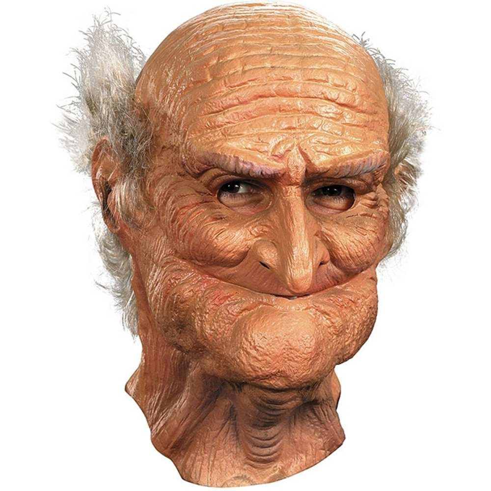 Amazon.com: Disguise Men's Male Oldie Mask, Beige/White, Adult ...