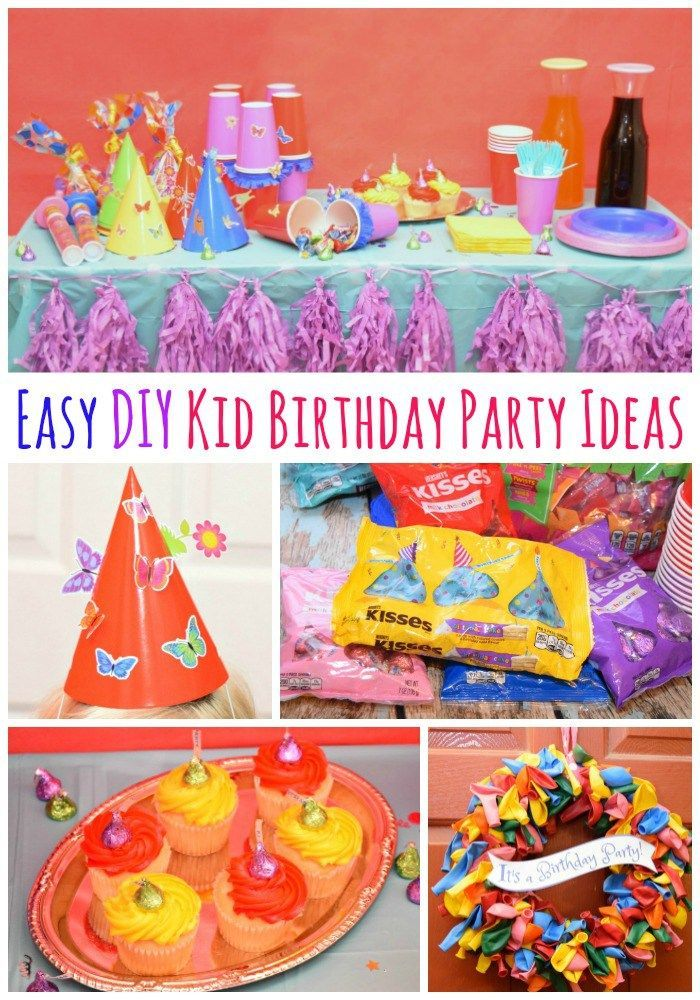 easy diy kid birthday party ideas activities for childrens