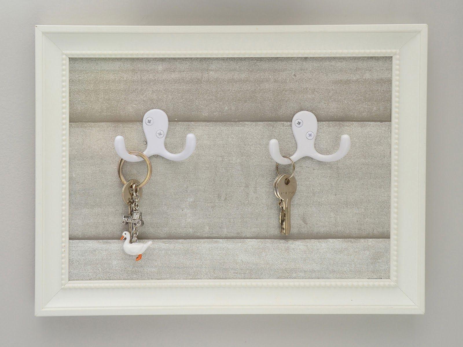 DIY Frame Key Holder 30 Superb Ways