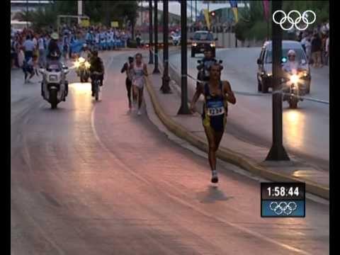 Marathon - Athens 2004 - Vanderlei De Lima!