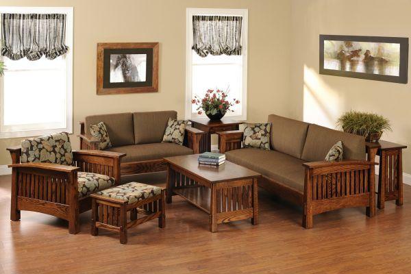 Lake Meade Modern Mission Sofa Wooden Sofa Designs Wooden Living Room Furniture Wooden Living Room