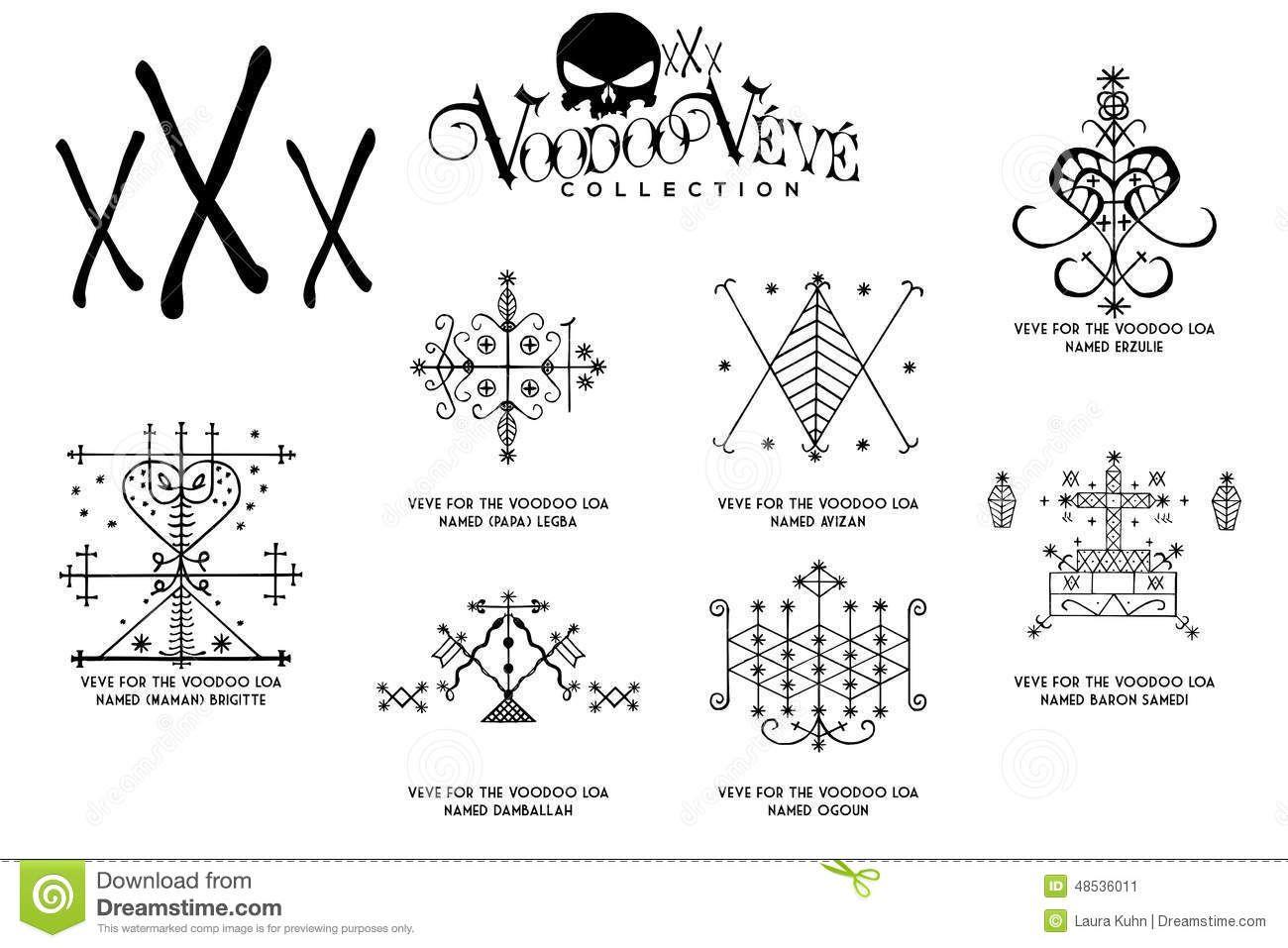 Voodoo Symbole