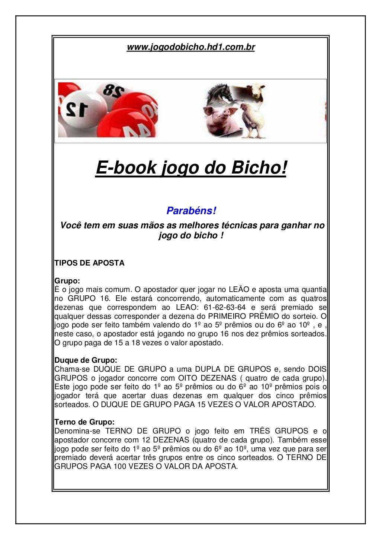 Www Jogodobicho Hd1 Com Bre Book Jogo Do Bicho Parabens Voce Tem