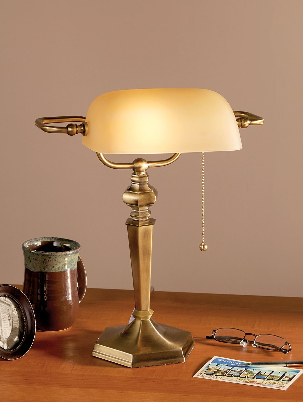 Banker S Lamp Vintage Lamp Desk Bankers Lamp Lamp