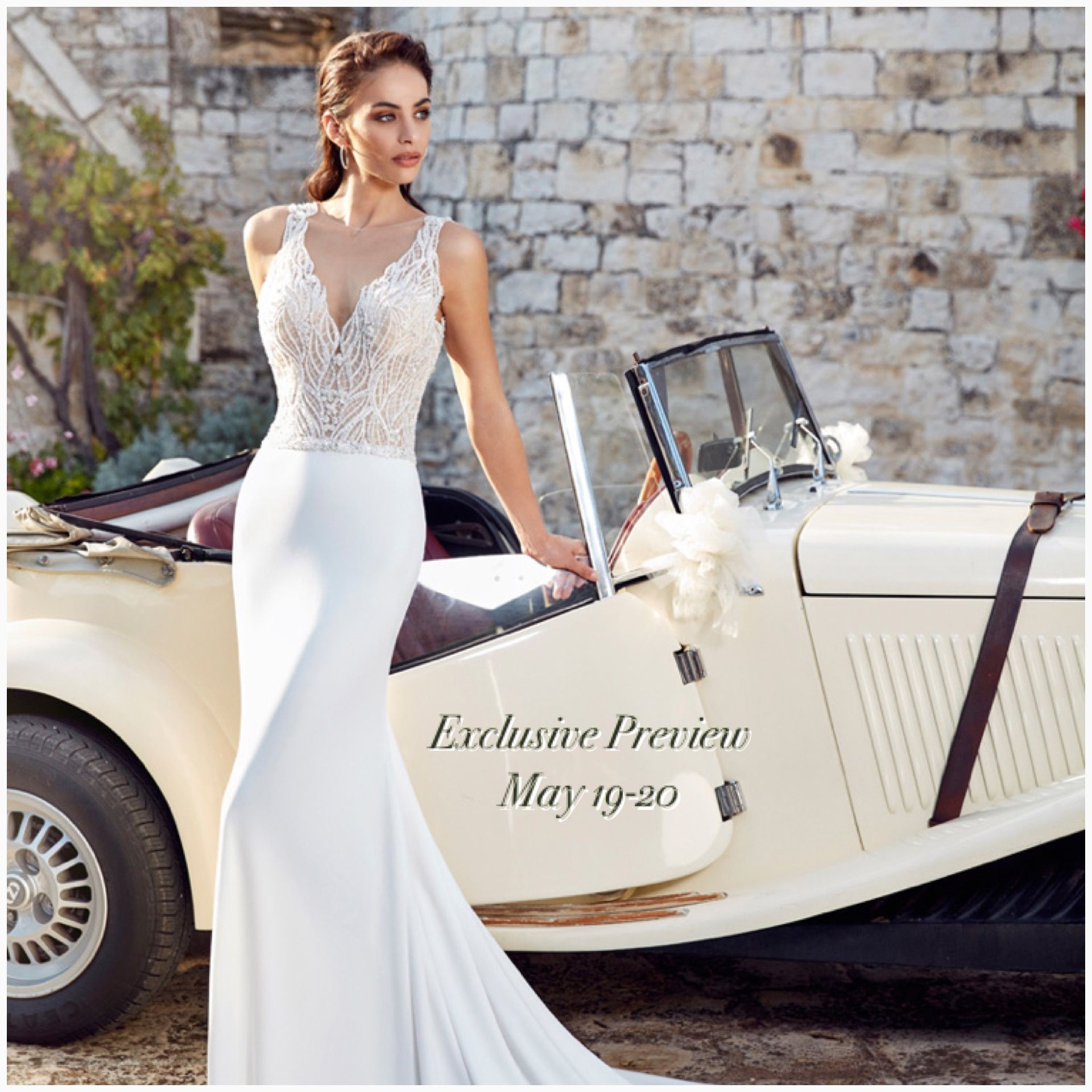 Eddy K Bridal Gowns Dreams 2018 Collection trunk show exclusively at ...