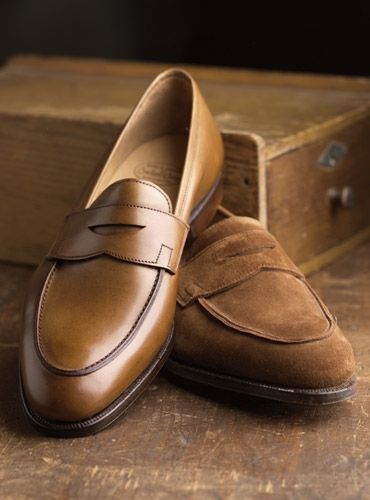 175f14ae374 The Rosebery Loafer in Tobacco Suede