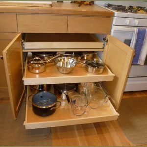 Metal Sliding Drawers For Kitchen Cabinets