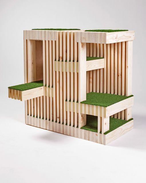 estructuras de madera cubos - Buscar con Google   4YFN 2017 ...