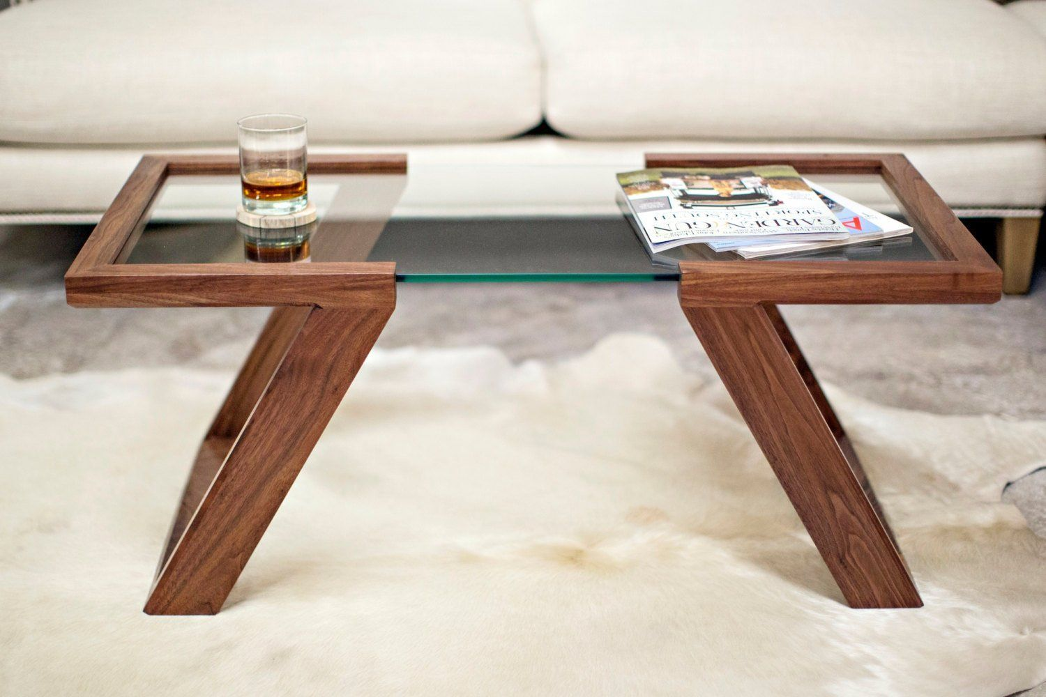 Veroniq Trends Floating Glass Centre Table In Solid Wood And 12 Mm Tempered Glass Top In Walnut Finish Coffee Table Furniture Coffee Table Furniture Decor [ 1000 x 1500 Pixel ]