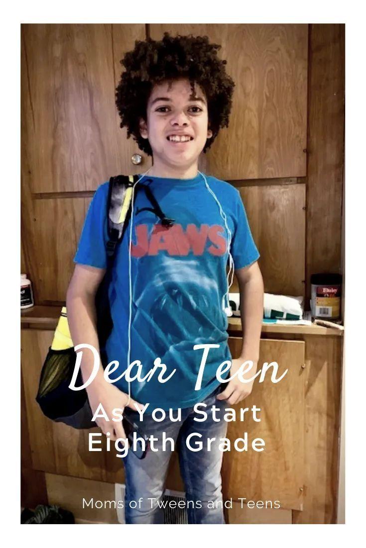 Photo of Dear Son as You Start Eighth Grade