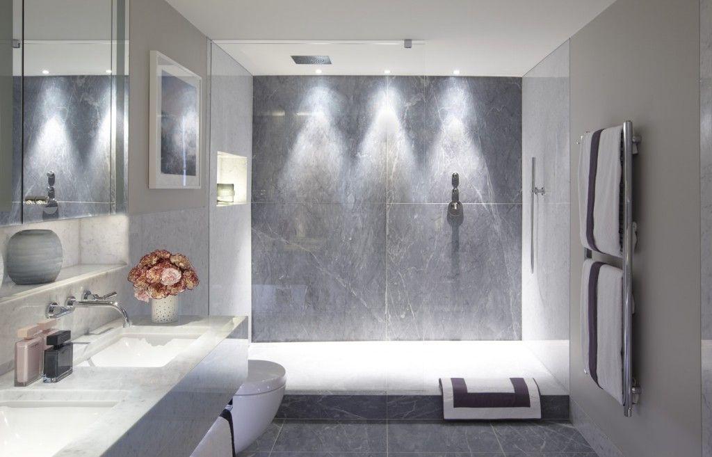 Charlottegrac3 Contemporary Shower Minimalist Bathroom
