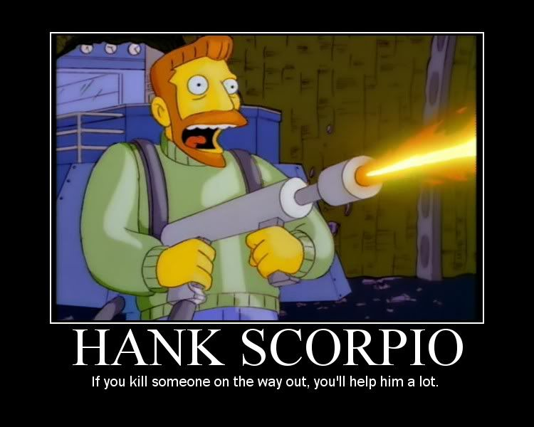 Hank Scorpio Graphics Code | Hank Scorpio Comments & Pictures | The  simpsons, Simpsons characters, Try not to laugh