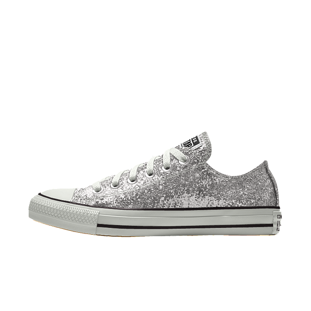 Converse Custom Chuck Taylor All Star Glitter Low Top Shoe