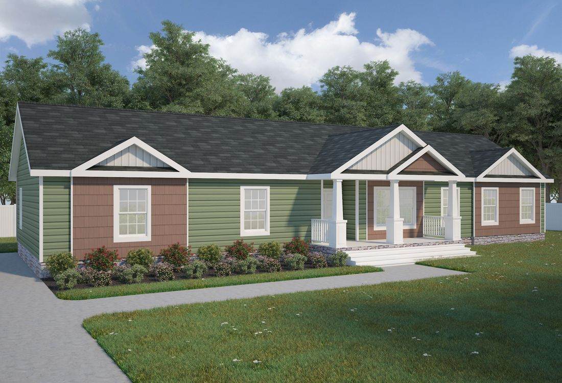 The 3321 Classic Mod Exterior This Modular Home Features 4 Bedrooms And 2 Baths Modular Homes For Sale Modular Homes Manufactured Homes Floor Plans