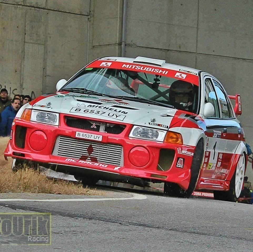 Mitsubishi Lancer Evo Rally Car (WRC) | De Carreras | Pinterest ...