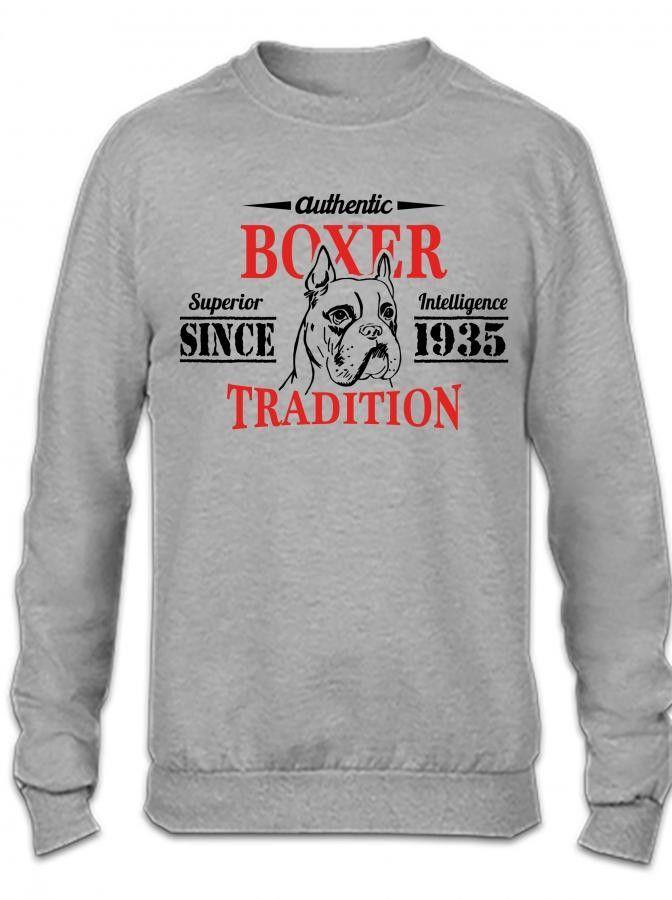 Authentic Boxer Tradition Crewneck Sweatshirt