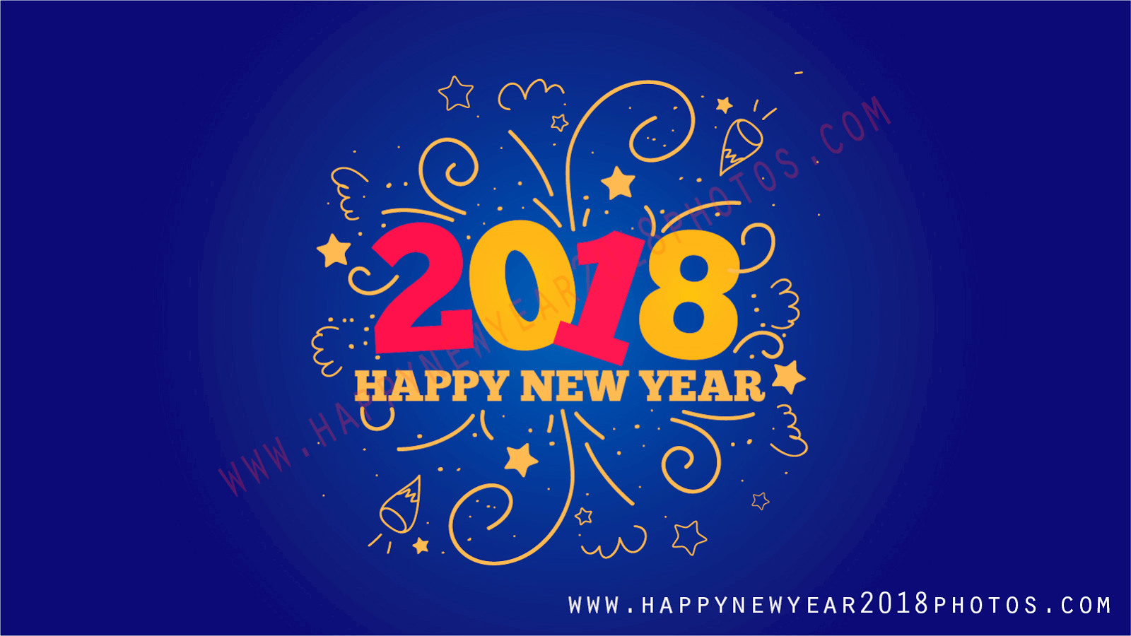Happy New Year 2018 Hd Wallpapers Free Download Happy New Year