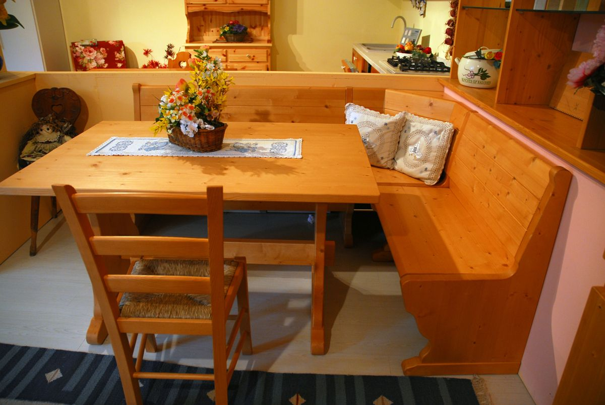 Tavolo Scandola ~ Falegnameria trentini scandola mobili giropanca tavolo fratino