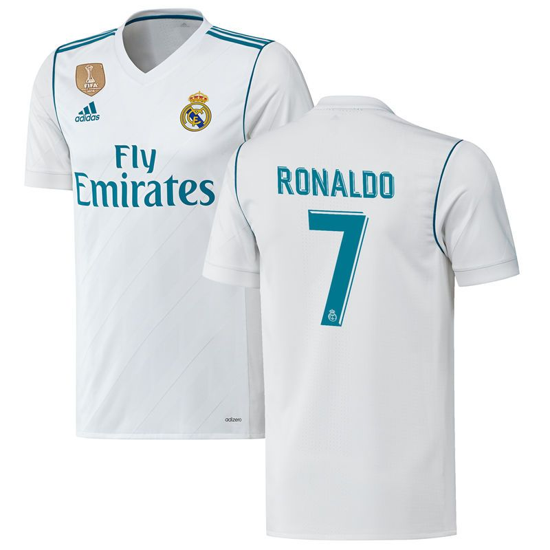 Ronaldo Real Madrid adidas 201718 Home Authentic Patch