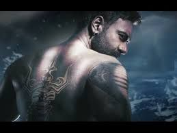 Ajay Devgn Cobra And Trishula Tattoos In Shivaay Hindi Movies Upcoming Movies Movies