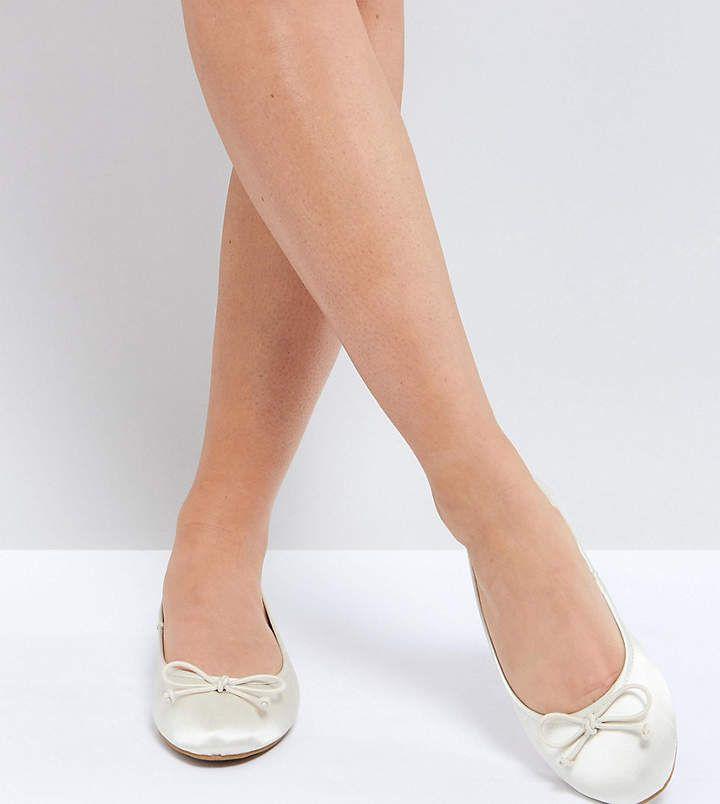 2faaa14e87f ASOS LIBRA Wide Fit Bridal Ballet Flats  asos  ad