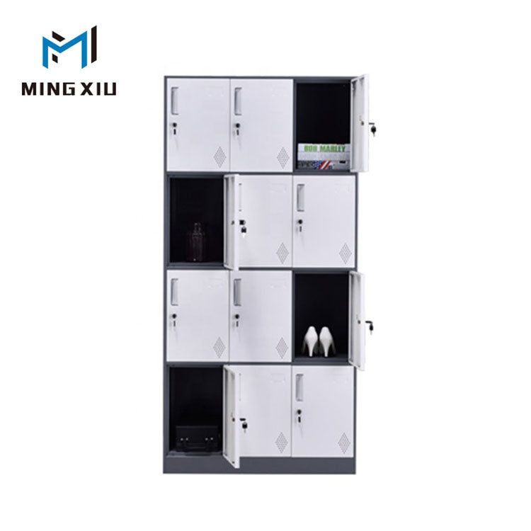 Hot Item Customizable Steel Clothes Cabinet 12 Door School Metal Locker In 2020 Steel Locker Metal Lockers Steel Storage Cabinets