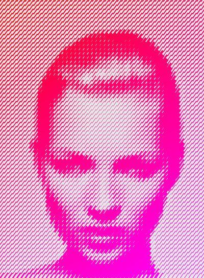 pinterest.com/fra411 #Kate Moss IV Art Print