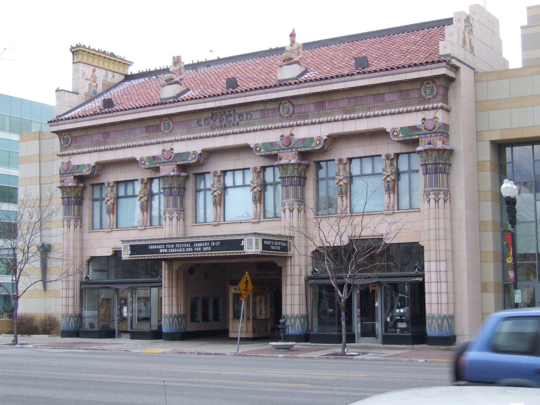 Peery S Egyptian Theater Ogden Utah Spent Many Childhood Hours