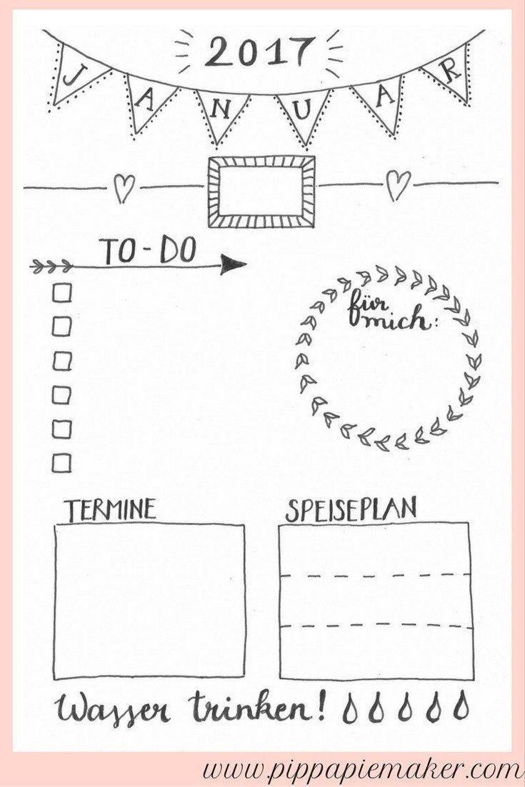 die besten 25 planer vorlagen ideen auf pinterest planungskalender kalender vorlagen und. Black Bedroom Furniture Sets. Home Design Ideas