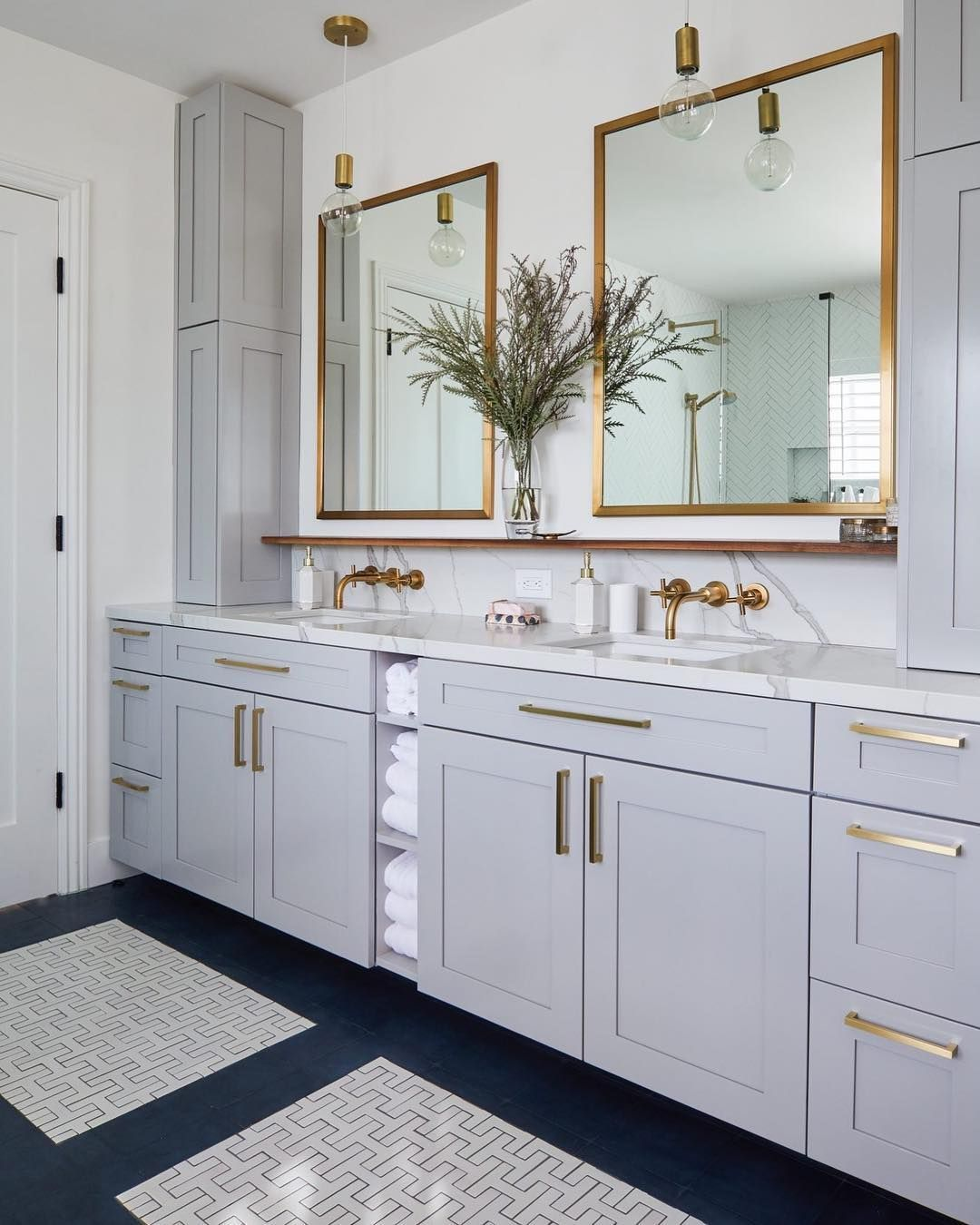 "Homepolish on Instagram: ""An exceptional bathroom renovation can"