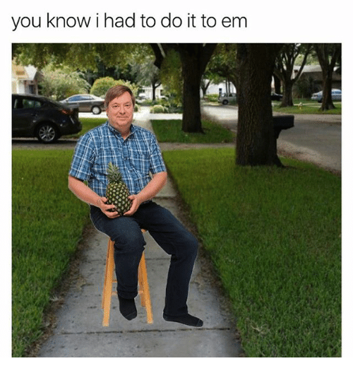 You Know I Had To Do It To Em Funny Images Reaction Pictures Best Memes