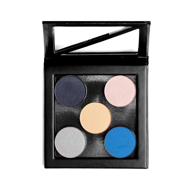 Sappho Square Compact Eyeshadow, Empty palette, Bronzer