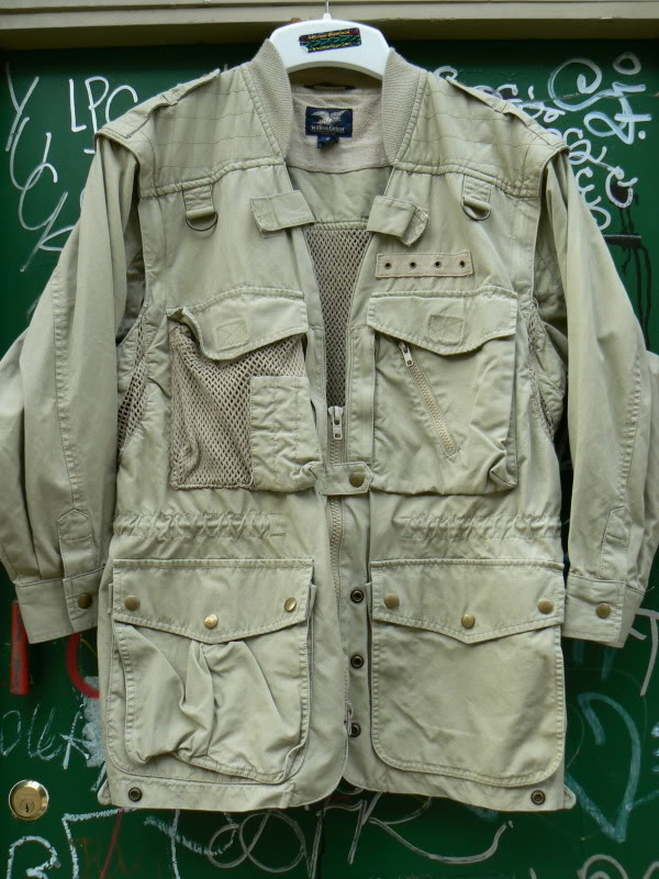 9de819428 Vintage Willis and Geiger Safari Jacket. . . . | Willis & Geiger ...