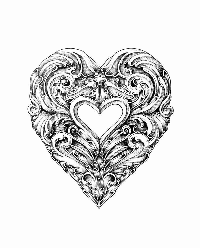Картинки сердца графика