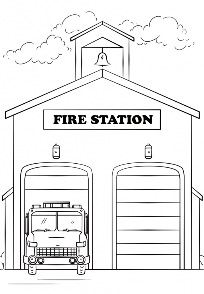 Fire Coloring Pages Best Coloring Pages For Kids Coloring Pages For Kids Preschool Coloring Pages Firetruck Coloring Page
