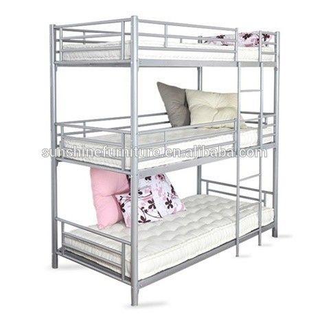 Best Great 3 Tier Bunk Bed Iso 9001 Modern Metal 3 Tier Kids 640 x 480