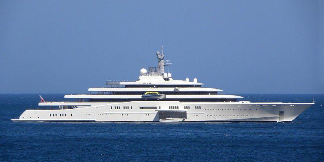 Yacht Eclipse Dream Wish List Luxury Yachts Ship Tracker Super