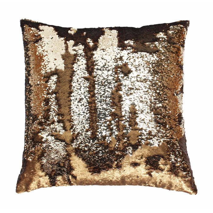 Sequin Tile Pillow Cover | Pillows