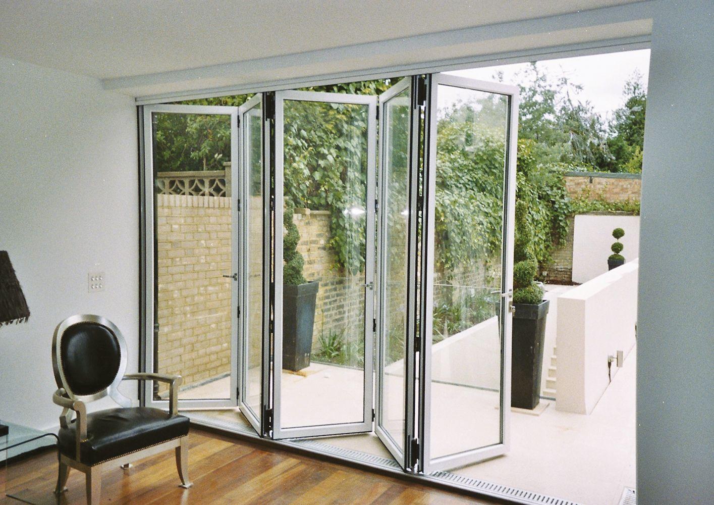 Aluminium And Timber Bifolding Doors 45 3 Jpg 1 415 1 000 Pixels Folding Patio Doors Sliding Glass Doors Patio Glass Doors Patio