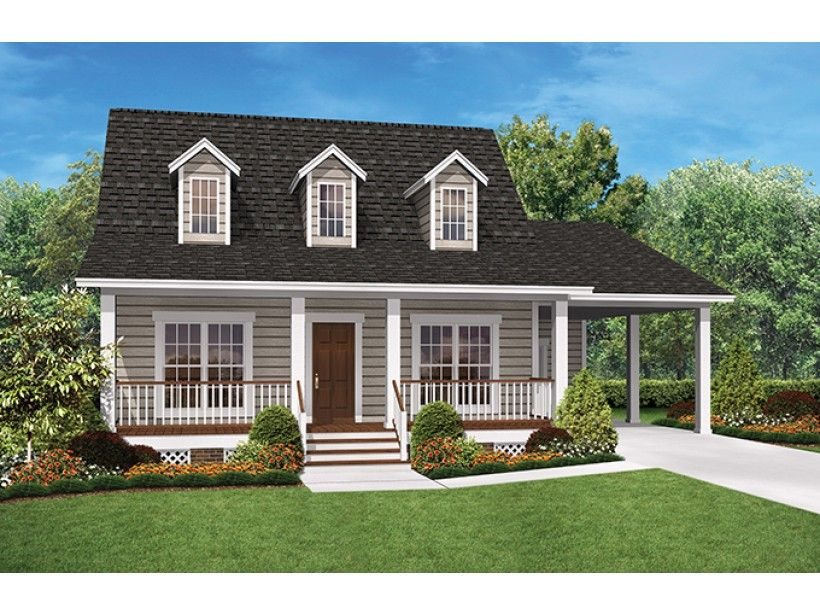 Two Bedroom House Design Pictures Impressive Eplans Ranch House Plan  Cozy Two Bedroom Ranch  900 Square Feet Decorating Inspiration