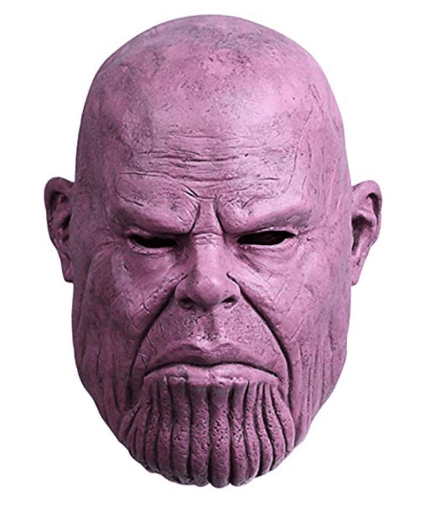 Avengers Infinity War Thanos Mask Superhero Masks Badass Movie Marvel Costumes