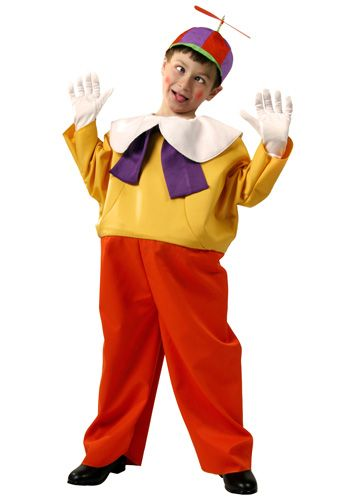 Alice in Wonderland theme - make Tweedle Dee and Tweedle Dum with t - halloween costume ideas boys