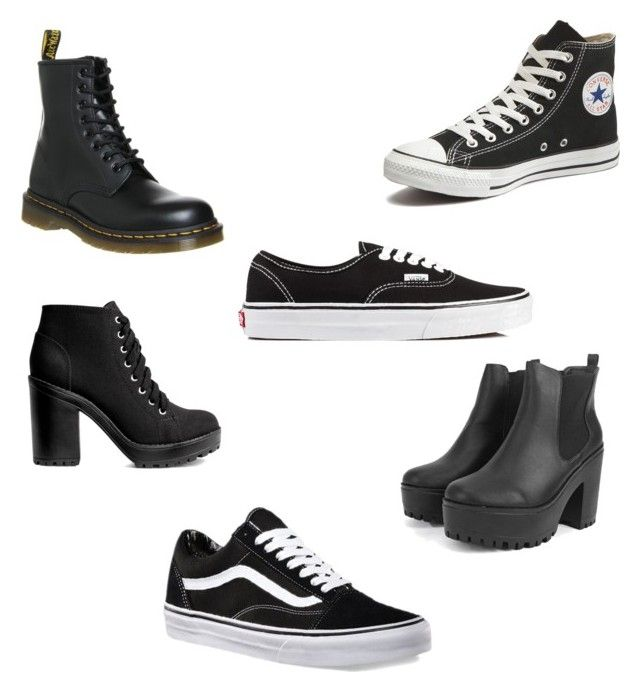 """""""Happy Feet"""" by joannalawler98 on Polyvore featuring Converse, Dr. Martens, Vans and H&M"""