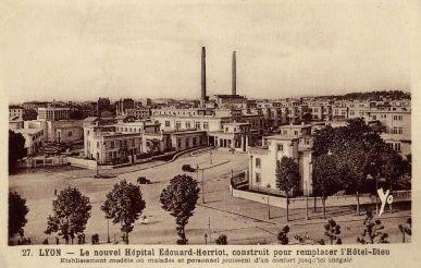 New l 39 hopital grange blanche lyon after 1934 - Hotel lyon grange blanche ...