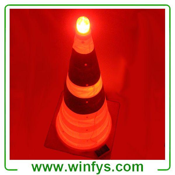 Solar Collapsible Traffic Cones Retractable Traffic Cones Cones Novelty Lamp Lava Lamp